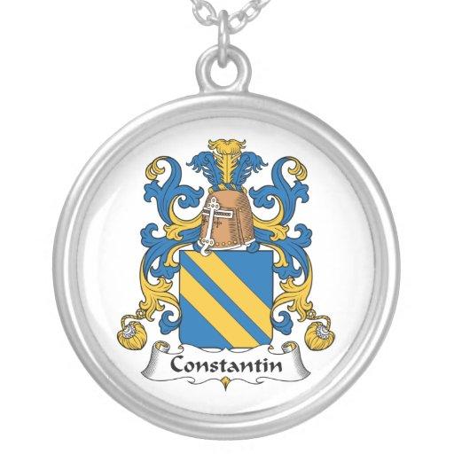 Escudo de la familia de Constantino Pendiente