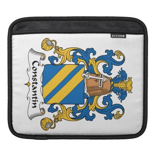 Escudo de la familia de Constantino Fundas Para iPads