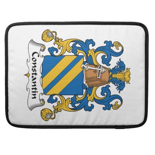 Escudo de la familia de Constantino Fundas Para Macbooks
