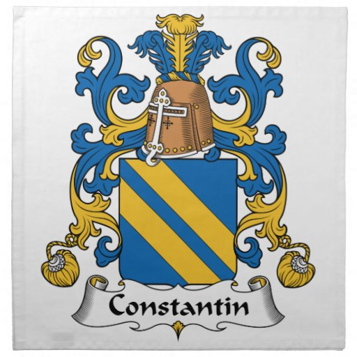 Escudo de la familia de Constantino Servilleta Imprimida
