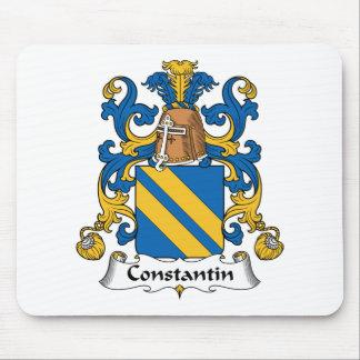 Escudo de la familia de Constantino Alfombrillas De Ratón