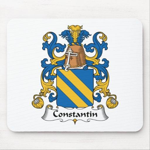 Escudo de la familia de Constantino Tapetes De Ratón