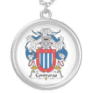 Escudo de la familia de Contreras Colgante Personalizado