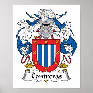 Escudo de la familia de Contreras Poster