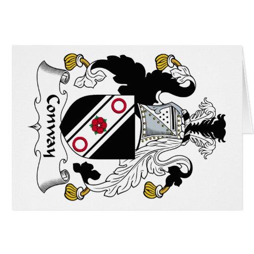 Escudo de la familia de Conway Tarjetas