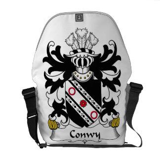 Escudo de la familia de Conwy Bolsa De Mensajería