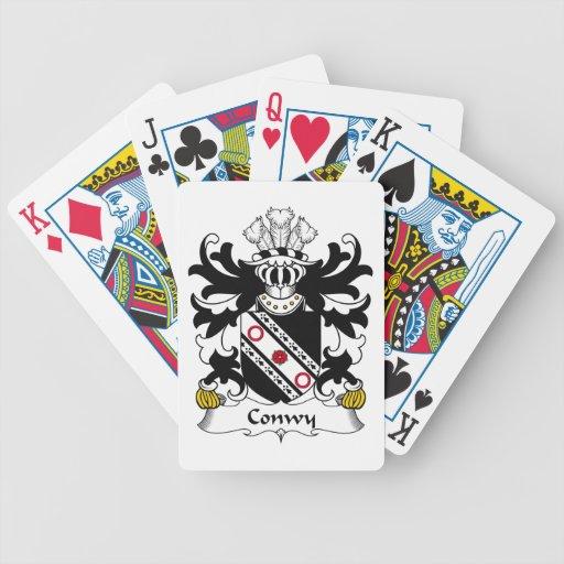 Escudo de la familia de Conwy Cartas De Juego