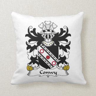 Escudo de la familia de Conwy Cojin
