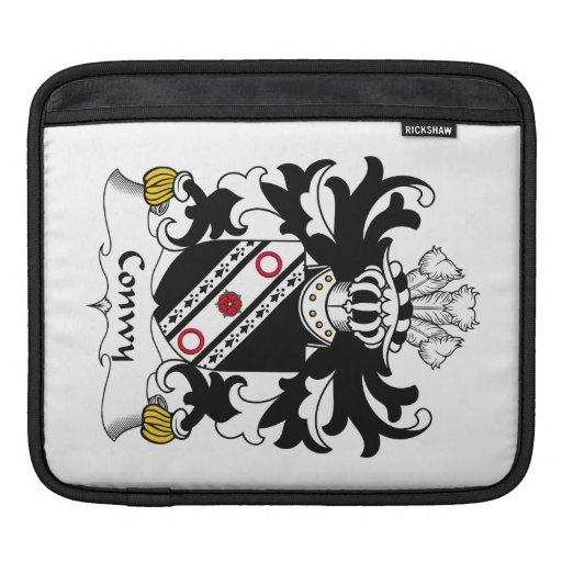 Escudo de la familia de Conwy Fundas Para iPads