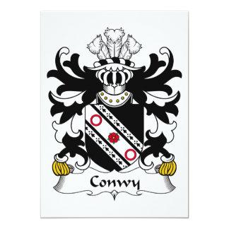 Escudo de la familia de Conwy Comunicados