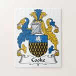 Escudo de la familia de Cooke Puzzle Con Fotos