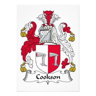 Escudo de la familia de Cookson Comunicado