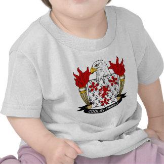 Escudo de la familia de Cooley Camiseta