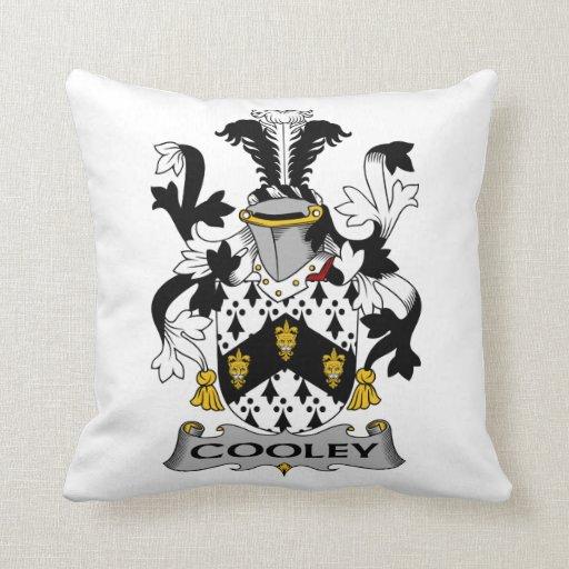 Escudo de la familia de Cooley Cojín