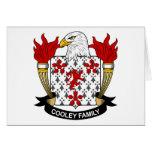 Escudo de la familia de Cooley Tarjeta
