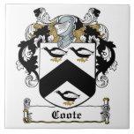 Escudo de la familia de Coote Azulejos Ceramicos