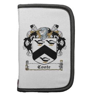 Escudo de la familia de Coote Organizador