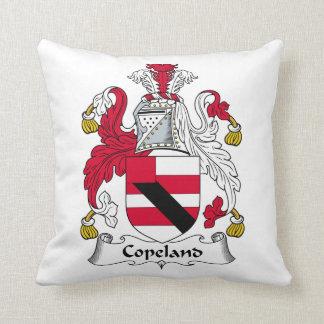 Escudo de la familia de Copeland Almohadas