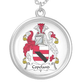 Escudo de la familia de Copeland Collar Personalizado