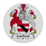 Escudo de la familia de Copeland Fichas De Póquer