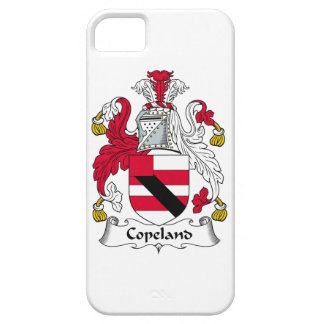 Escudo de la familia de Copeland iPhone 5 Case-Mate Cárcasa