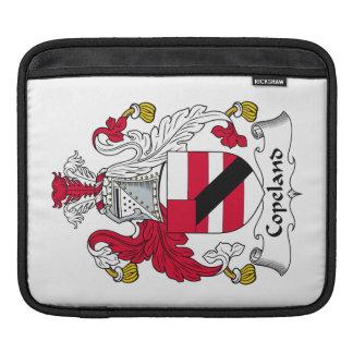 Escudo de la familia de Copeland Funda Para iPads