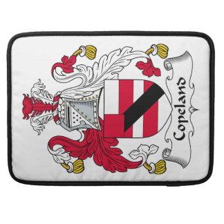 Escudo de la familia de Copeland Fundas Para Macbook Pro