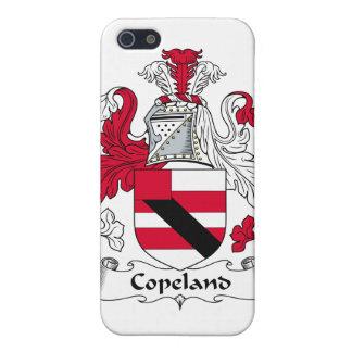 Escudo de la familia de Copeland iPhone 5 Fundas
