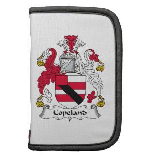 Escudo de la familia de Copeland Organizadores