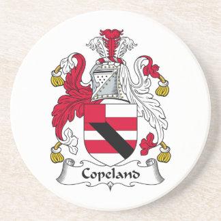 Escudo de la familia de Copeland Posavasos Diseño