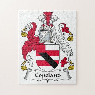 Escudo de la familia de Copeland Puzzles