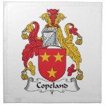 Escudo de la familia de Copeland Servilleta De Papel