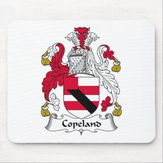 Escudo de la familia de Copeland Alfombrillas De Ratón
