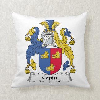 Escudo de la familia de Copin Cojín