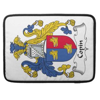 Escudo de la familia de Copin Funda Para Macbooks