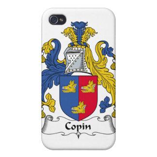 Escudo de la familia de Copin iPhone 4 Cárcasas