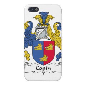 Escudo de la familia de Copin iPhone 5 Cobertura