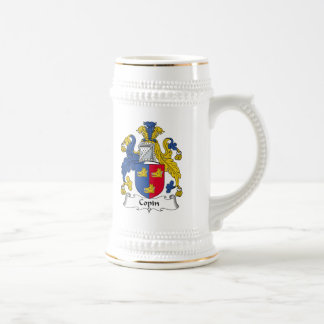 Escudo de la familia de Copin Jarra De Cerveza