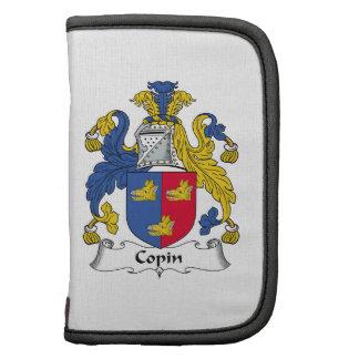 Escudo de la familia de Copin Planificadores