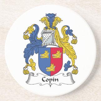 Escudo de la familia de Copin Posavasos Cerveza
