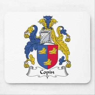 Escudo de la familia de Copin Alfombrillas De Ratón