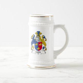 Escudo de la familia de Copin Tazas De Café