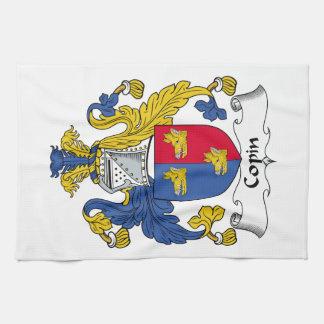 Escudo de la familia de Copin Toalla De Mano