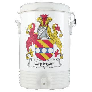 Escudo de la familia de Copinger Vaso Enfriador Igloo