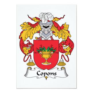 Escudo de la familia de Copons Anuncio