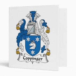 Escudo de la familia de Coppinger