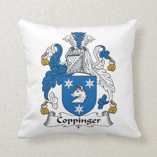 Escudo de la familia de Coppinger Cojin