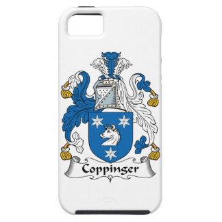 Escudo de la familia de Coppinger iPhone 5 Coberturas