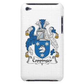 Escudo de la familia de Coppinger iPod Touch Case-Mate Cárcasa