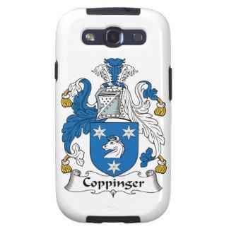 Escudo de la familia de Coppinger Galaxy SIII Cárcasas